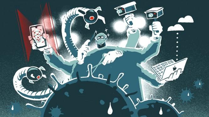Trung Quốc và Mỹ chiến đấu với virus Corona bằng dữ liệu, phân tích, AI và robot như thế nào? ảnh 1