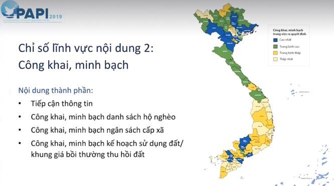 Công bố Chỉ số PAPI 2019: Hà Nội đứng dưới cả Bạc Liêu, Quảng Ngãi, Lai Châu về chỉ số công khai minh bạch ảnh 2