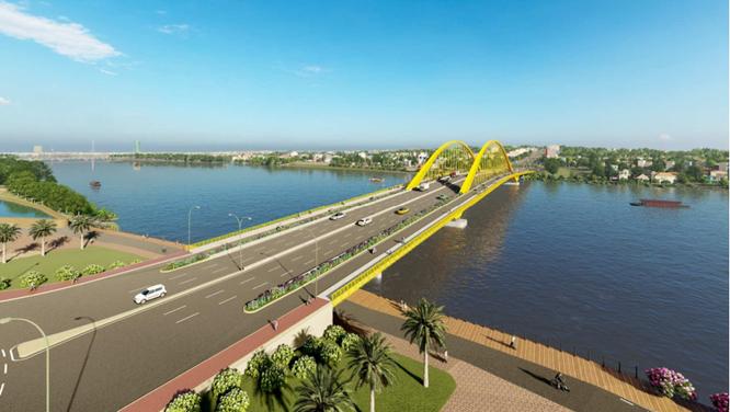 Thiết kế kiến trúc công trình cầu vượt sông Hương: Phương án nào được chọn? ảnh 2