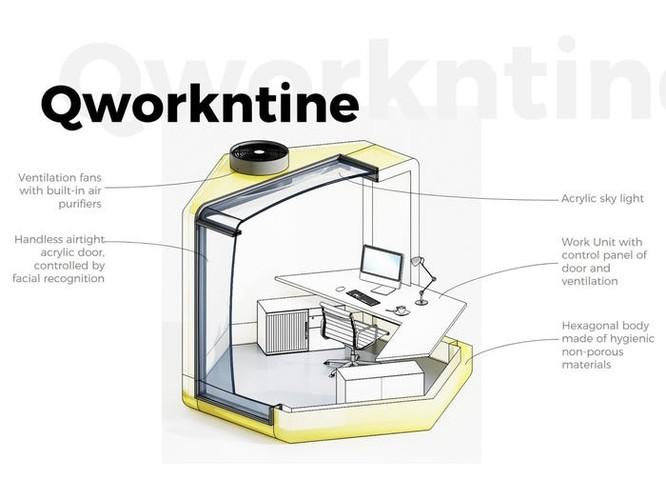 Khám phá văn phòng hình tổ ong – giải pháp chống dịch Covid-19 ảnh 3