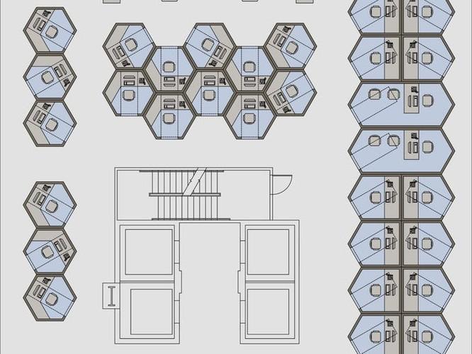 Khám phá văn phòng hình tổ ong – giải pháp chống dịch Covid-19 ảnh 7