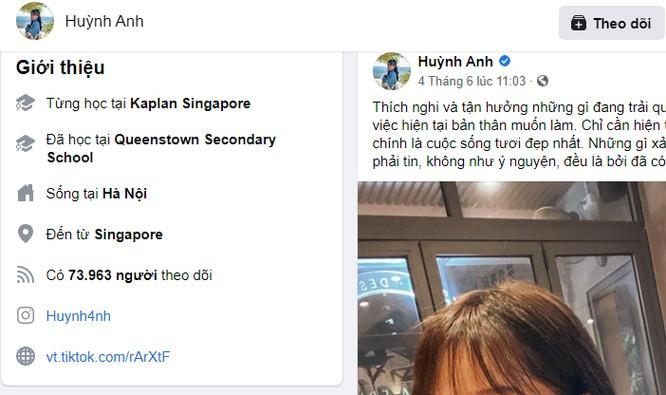 """Huỳnh Anh hủy trạng thái """"hẹn hò"""" với Quang Hải trên Facebook ảnh 1"""