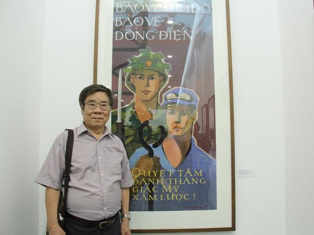 Bảo tàng Mỹ thuật Việt Nam giới thiệu 30 tranh cổ động trong giai đoạn từ 1958 đến 1986 ảnh 3