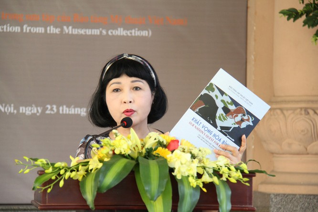 Bảo tàng Mỹ thuật Việt Nam giới thiệu 30 tranh cổ động trong giai đoạn từ 1958 đến 1986 ảnh 2