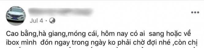 Giật mình với những quảng cáo đưa người qua biên giới Việt - Trung trốn cách ly trên mạng xã hội ảnh 3