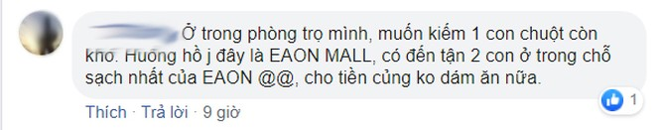 Cộng đồng mạng và Aeon Mall nói gì về vụ chuột bò lên khay thức ăn ở khu ẩm thực? ảnh 1
