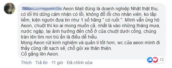 Cộng đồng mạng và Aeon Mall nói gì về vụ chuột bò lên khay thức ăn ở khu ẩm thực? ảnh 4