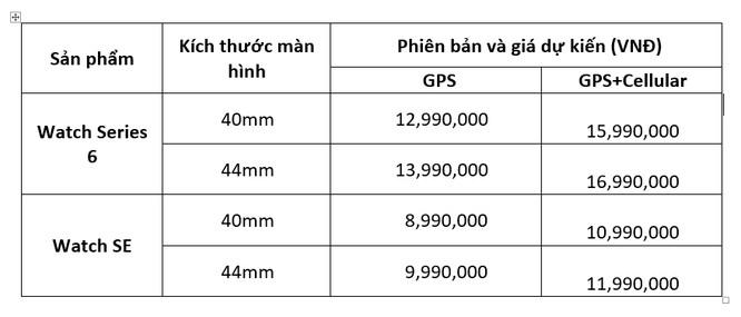 Apple ra mắt đồng hồ thế hệ 6 và iPad Air 4, đã có giá bán dự kiến tại Việt Nam ảnh 5