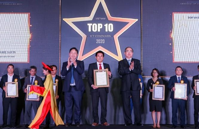 SAVIS được VINASA vinh danh tại 2 hạng mục Top 10 doanh nghiệp CNTT hàng đầu ảnh 1