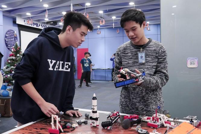Tech Fair 2021 - Triển lãm khoa học và công nghệ thu hút các bạn trẻ Hà Nội ảnh 8