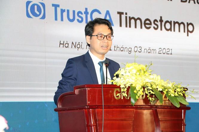 Ra mắt dịch vụ chứng thực điện tử cấp dấu thời gian đầu tiên tại Việt Nam ảnh 1