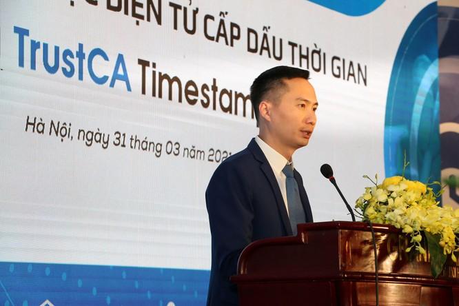 Ra mắt dịch vụ chứng thực điện tử cấp dấu thời gian đầu tiên tại Việt Nam ảnh 2
