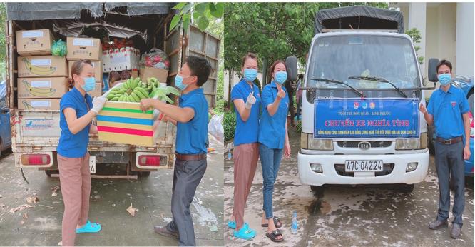 900 hộ dân quận Bình Tân và quận 8 đón nhận nhiều suất lương thực từ người dân Bình Phước ảnh 3