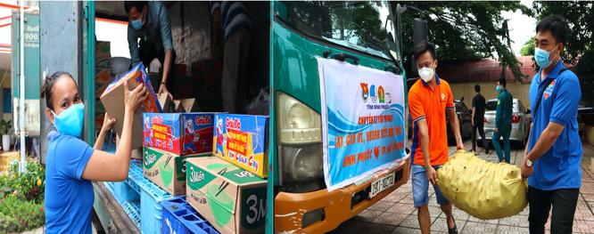 900 hộ dân quận Bình Tân và quận 8 đón nhận nhiều suất lương thực từ người dân Bình Phước ảnh 1