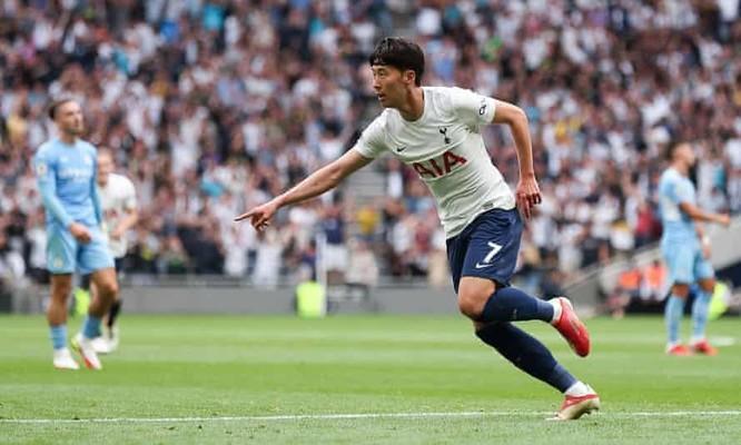 Tottenham đánh bại Manchester City nhờ siêu phẩm của Son Heung-min ảnh 1