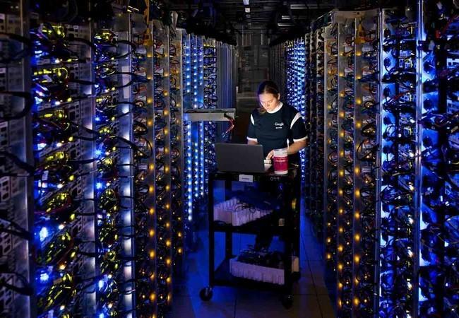 Một kỹ sư của Google (Ảnh AP)