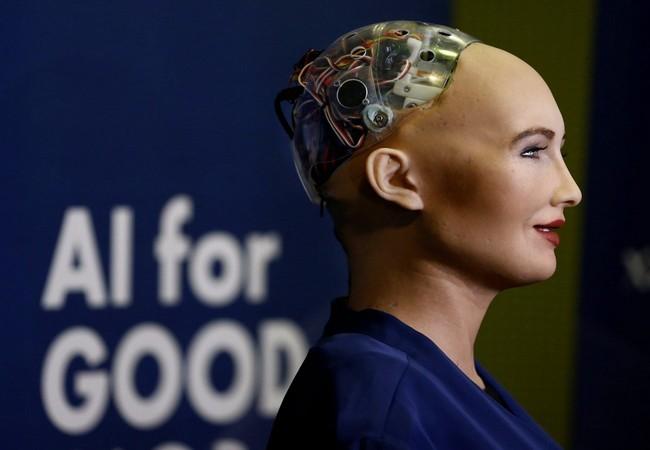Chân dung Sophia - công dân robot đầu tiên trên thế giới ảnh 1