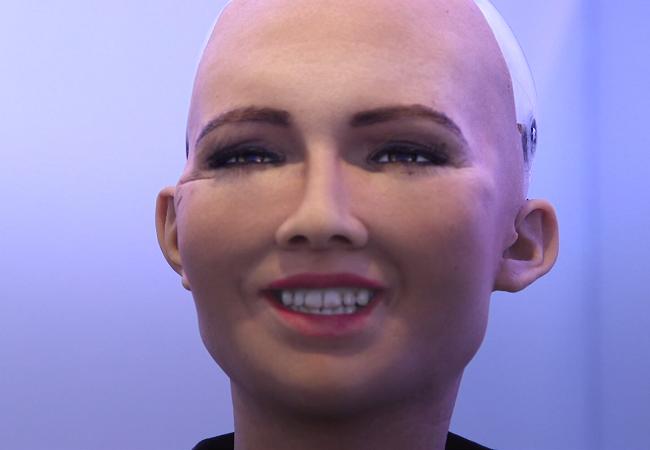 Chân dung Sophia - công dân robot đầu tiên trên thế giới ảnh 5
