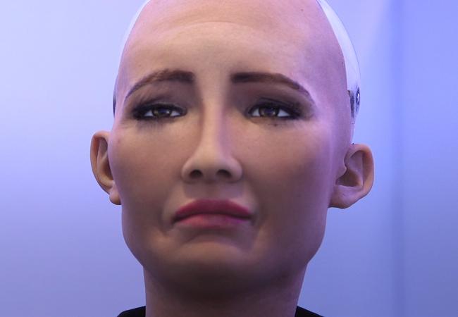 Chân dung Sophia - công dân robot đầu tiên trên thế giới ảnh 6