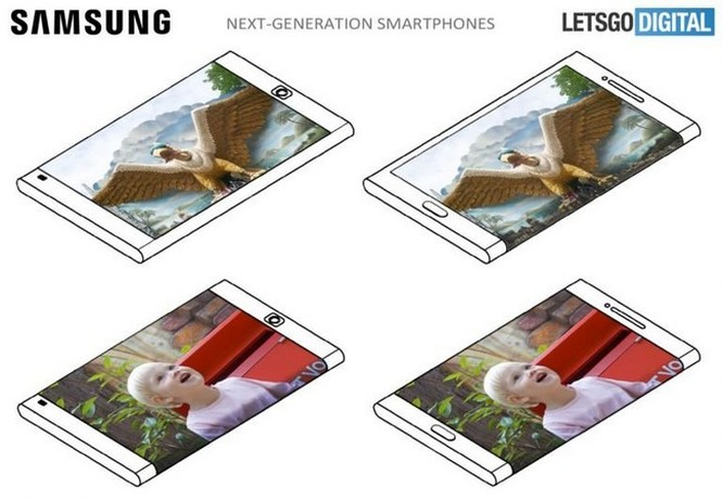Điện thoại tương lai của Samsung có màn hình ở cả mặt trước và sau ảnh 1