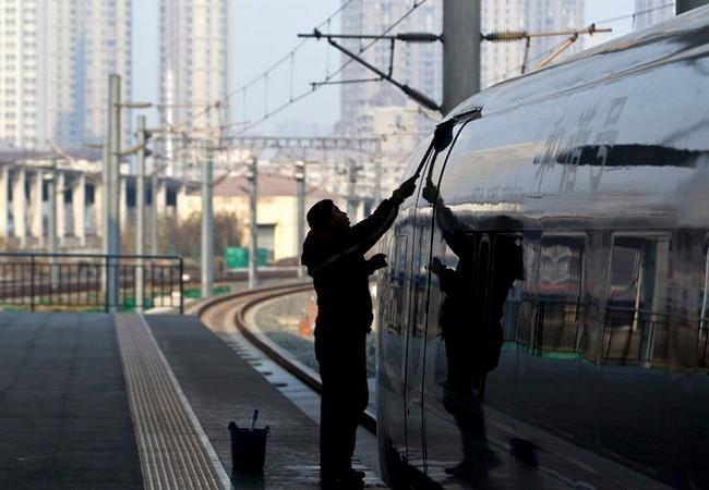 Trung Quốc đang xây dựng mạng lưới đường sắt lớn nhất thế giới ảnh 13
