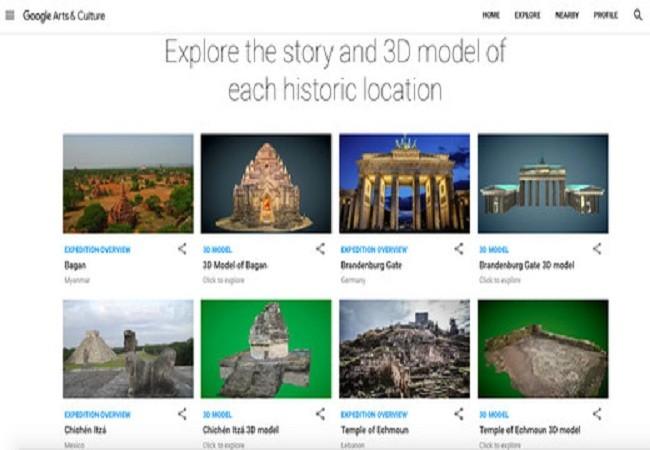 Tham quan các di tích lịch sử nổi tiếng bằng công nghệ thực tế ảo của Google ảnh 2