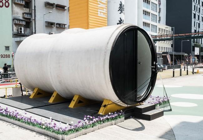 Độc đáo những ngôi nhà ống cống 10m2 – giải pháp hiệu quả về nhà ở cho thành phố đắt đỏ nhất thế giới ảnh 11
