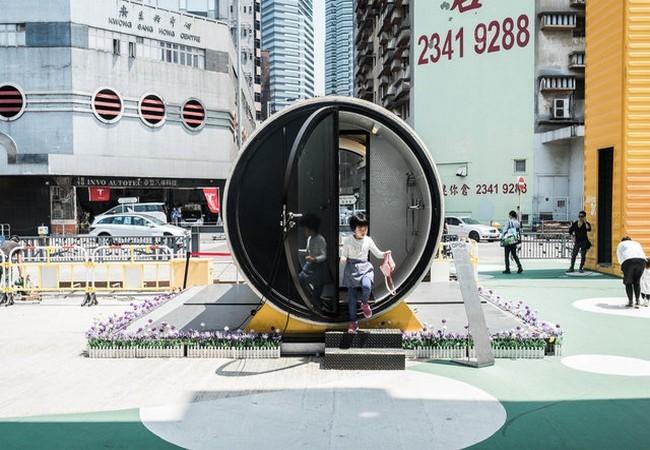 Độc đáo những ngôi nhà ống cống 10m2 – giải pháp hiệu quả về nhà ở cho thành phố đắt đỏ nhất thế giới ảnh 2