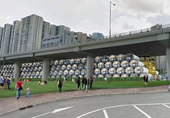 Độc đáo những ngôi nhà ống cống 10m2 – giải pháp hiệu quả về nhà ở cho thành phố đắt đỏ nhất thế giới ảnh 13