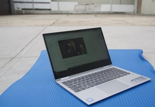 Đánh giá nhanh laptop Lenovo Yoga Book 730 ảnh 1