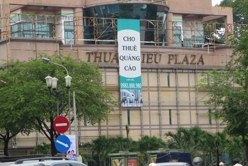Cảnh hoang tàn của tòa nhà trị giá 55 triệu USD Thuận Kiều Plaza ảnh 4
