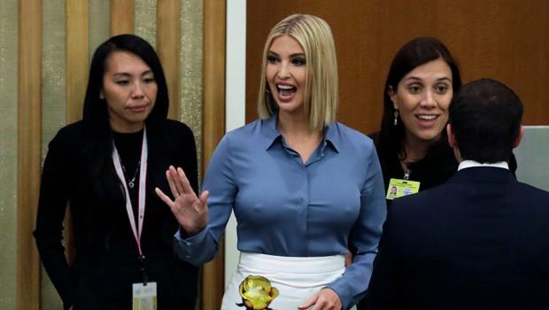 Ivanka Trump thả rông vòng 1 tại Đại hội đồng Liên Hợp Quốc: Sự cố hay sự cố tình? ảnh 1