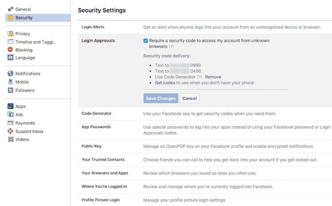 4 thiết lập để đánh bại hacker Facebook ảnh 2