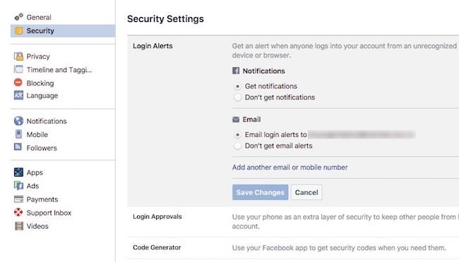4 thiết lập để đánh bại hacker Facebook ảnh 5