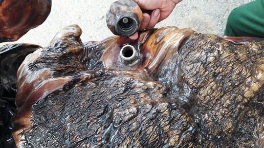 Độc - Lạ: Mô tô bằng gỗ độc nhất vô nhị ở Lâm Đồng ảnh 4