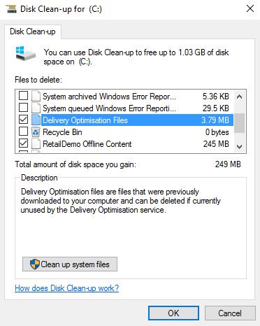 6 cách giải phóng không gian ổ cứng trong Windows 10 ảnh 8