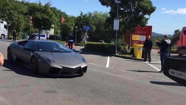 Chiếc Lamborghini Reventon khoảng hơn 800 nghìn bảng Anh.