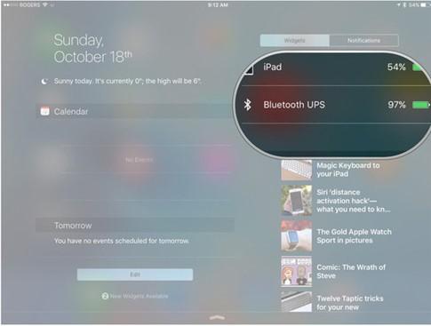 4 mẹo khai thác bàn phím Bluetooth trên iPhone, iPad hiệu quả ảnh 2