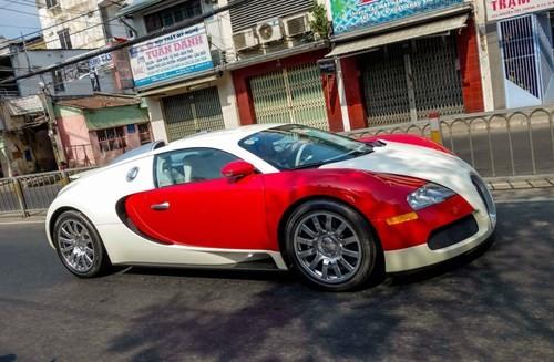 Bugatti Veyron rất ít khi xuất hiện.