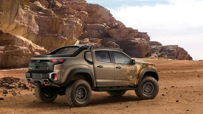 """Chevrolet Colorado ZH2 concept: Xe """"tàng hình"""" của Quân đội Mỹ ảnh 1"""