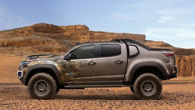 """Chevrolet Colorado ZH2 concept: Xe """"tàng hình"""" của Quân đội Mỹ ảnh 2"""