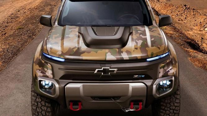 """Chevrolet Colorado ZH2 concept: Xe """"tàng hình"""" của Quân đội Mỹ ảnh 3"""
