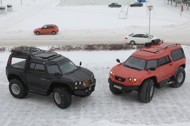 Viking 29031: Siêu xe toàn địa hình của Nga ảnh 2