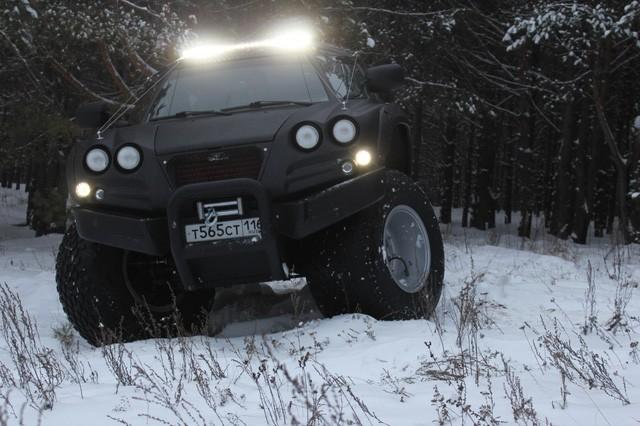 Viking 29031: Siêu xe toàn địa hình của Nga ảnh 3