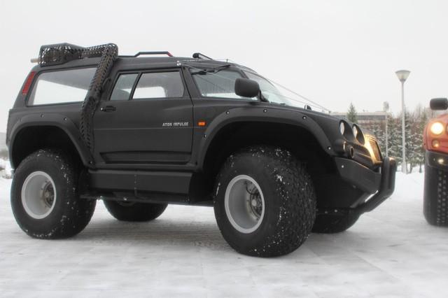 Viking 29031: Siêu xe toàn địa hình của Nga ảnh 4