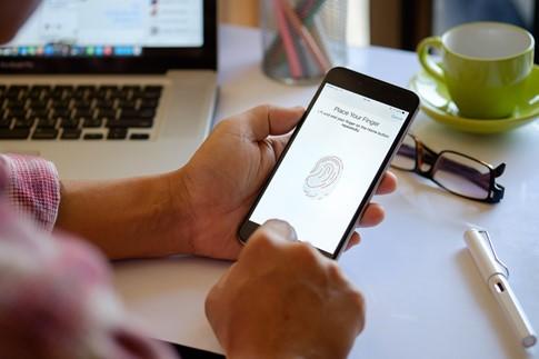 Nhận dạng vân tay ngày càng phổ biến trên điện thoại thông minh- (Ảnh: ENGADGET).
