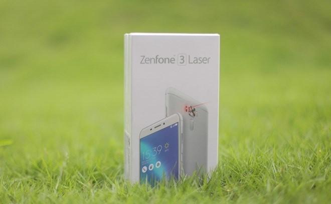 Soi điện thoại Asus Zenfone 3 Laser vừa lên kệ tại Việt Nam ảnh 1
