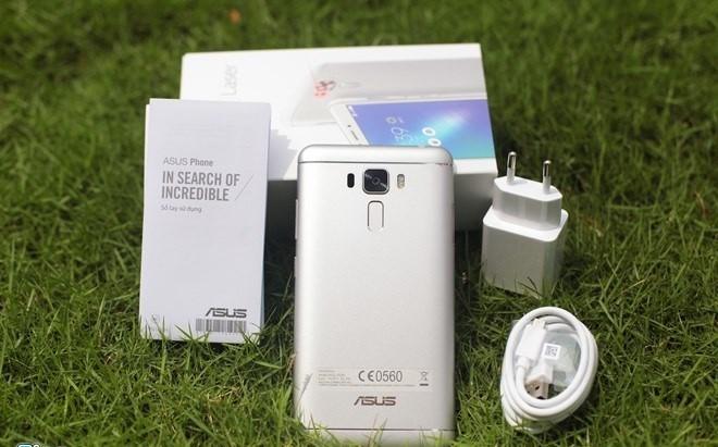 Soi điện thoại Asus Zenfone 3 Laser vừa lên kệ tại Việt Nam ảnh 2