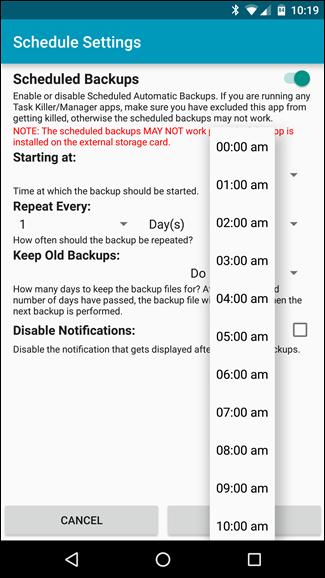 Backup tin nhắn SMS vào email, Dropbox, Google Drive ảnh 14