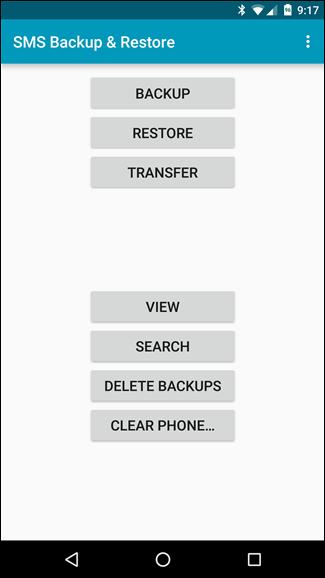 Backup tin nhắn SMS vào email, Dropbox, Google Drive ảnh 1